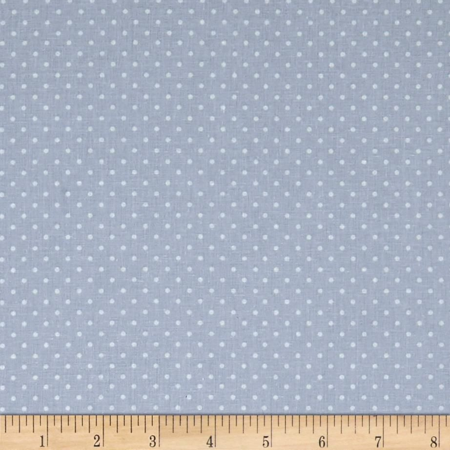 Stof France Mini Plumetis Blue | Printing On Fabric, Fabric