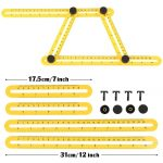 Template Tool Measures Multi Angle And Form Ruler