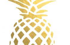 Printable Ruler Pineapple