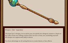 The Scepter Of .martello! Neccessary For All Rulers Of The
