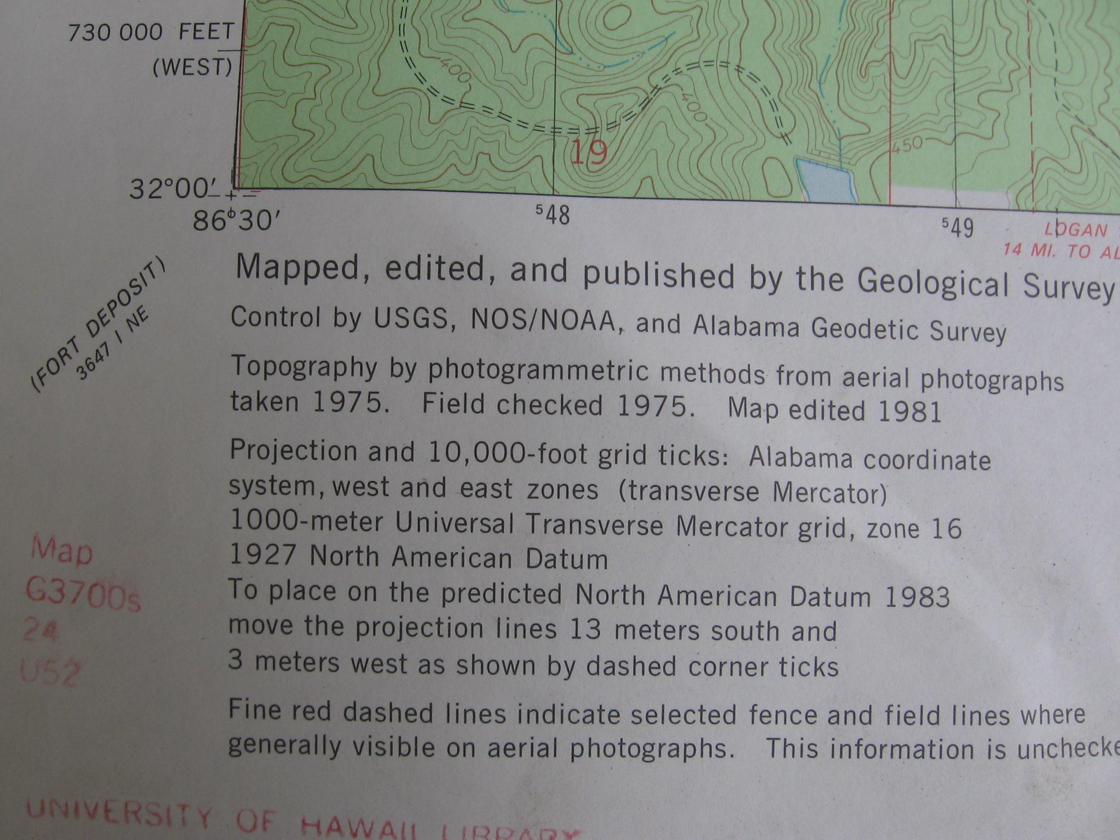 Topo Map Use