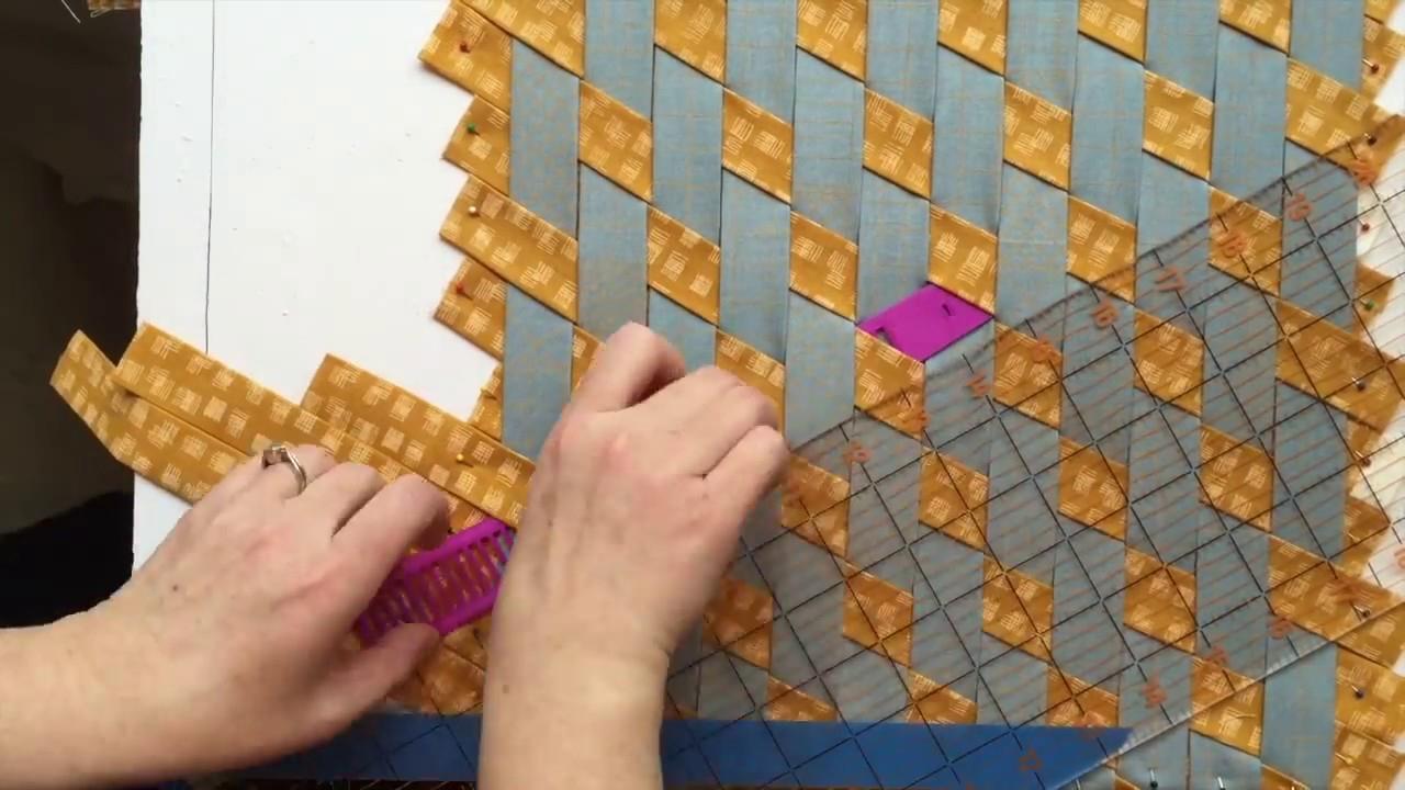 Tumbling Blocks Madweave Process