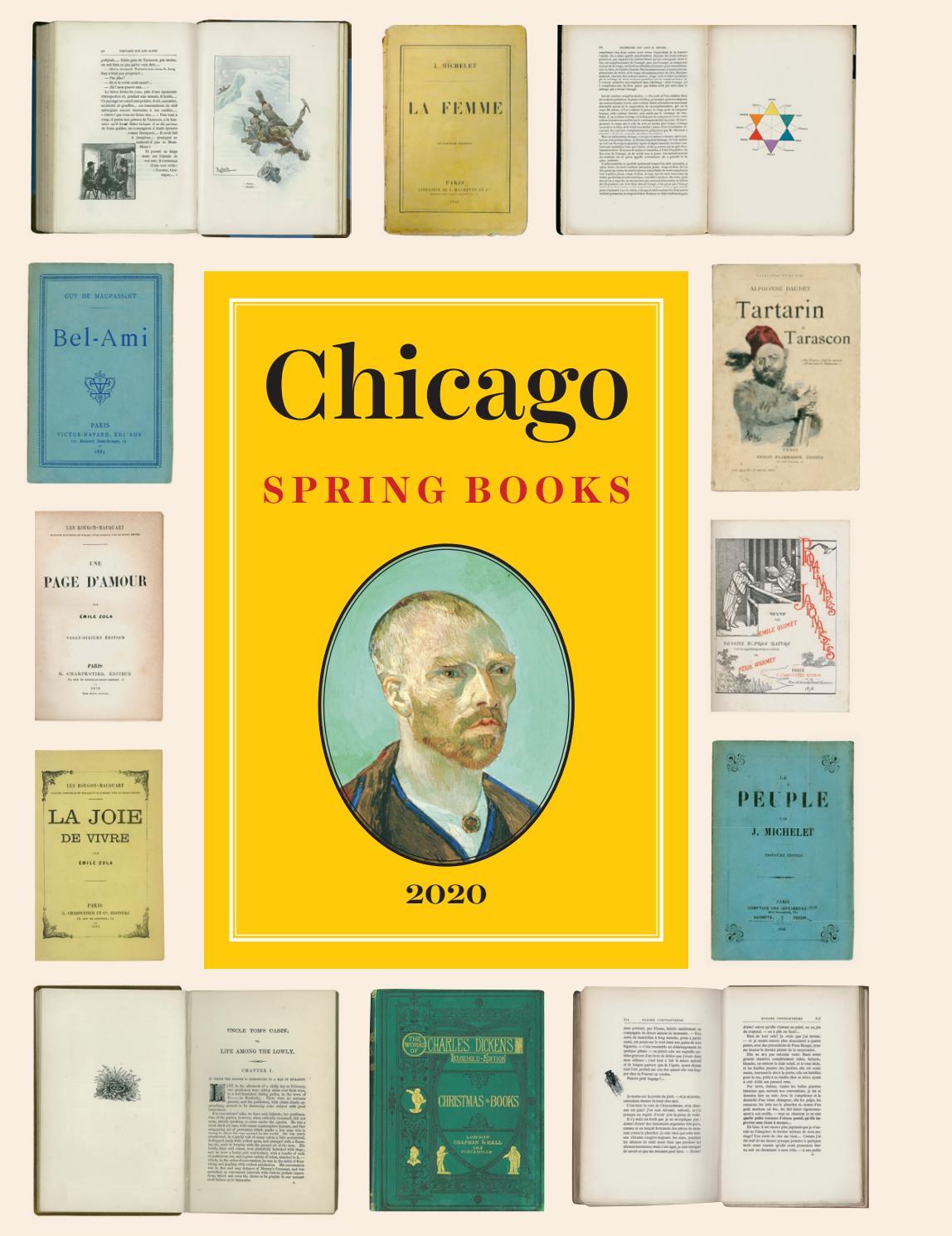 University Of Chicago Press Spring 2020 Seasonal Catalog