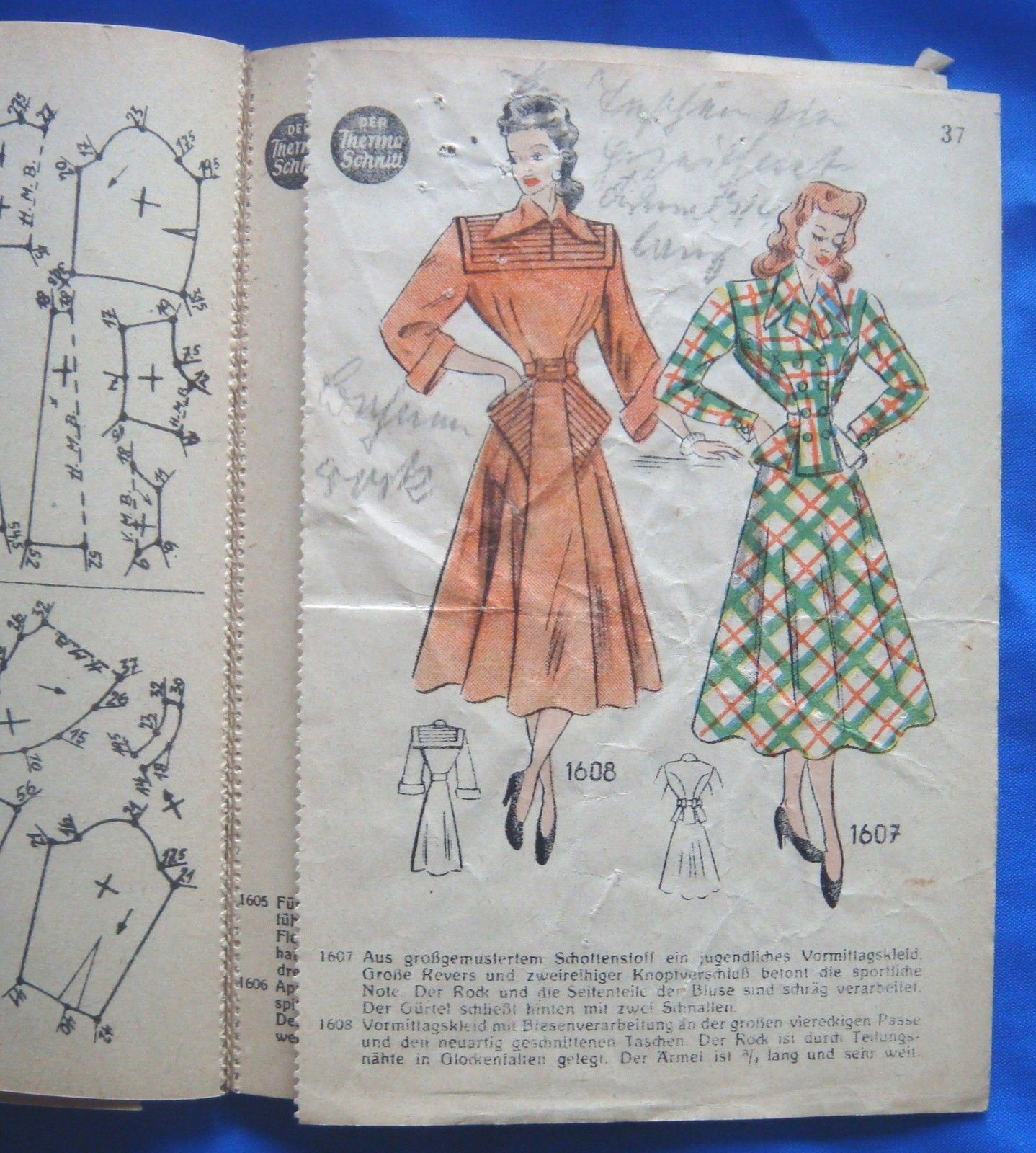 Vintage Lutterloh Golden Rule Der Thermo Schnitt Drafting