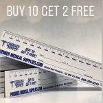 Wound Measuring Guides. Usedover 50,000 Physicians And