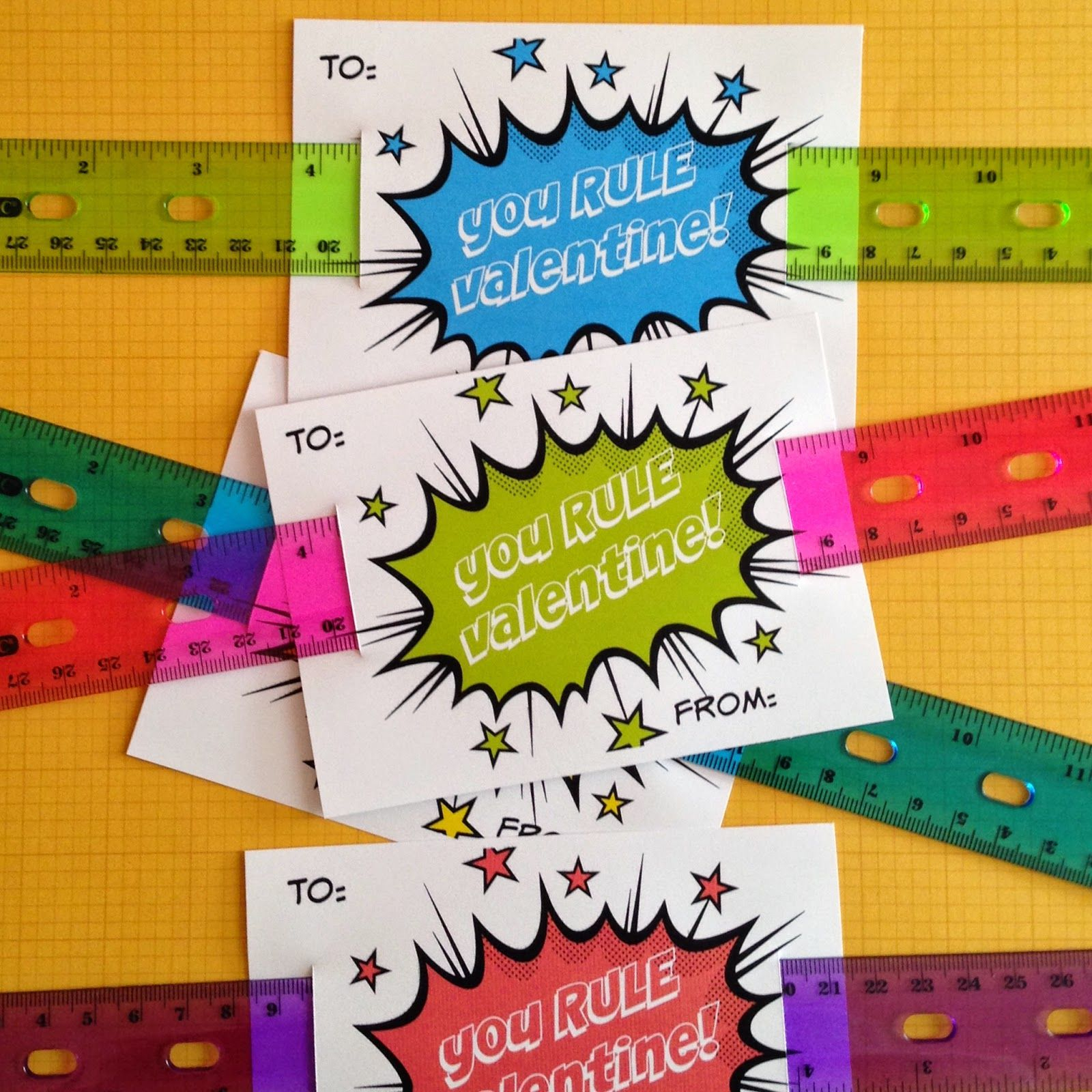 You Rule! {A Free Valentine Printable!} | Valentines For