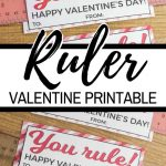 You Rule Valentine In 2020 | Valentines Printables Free