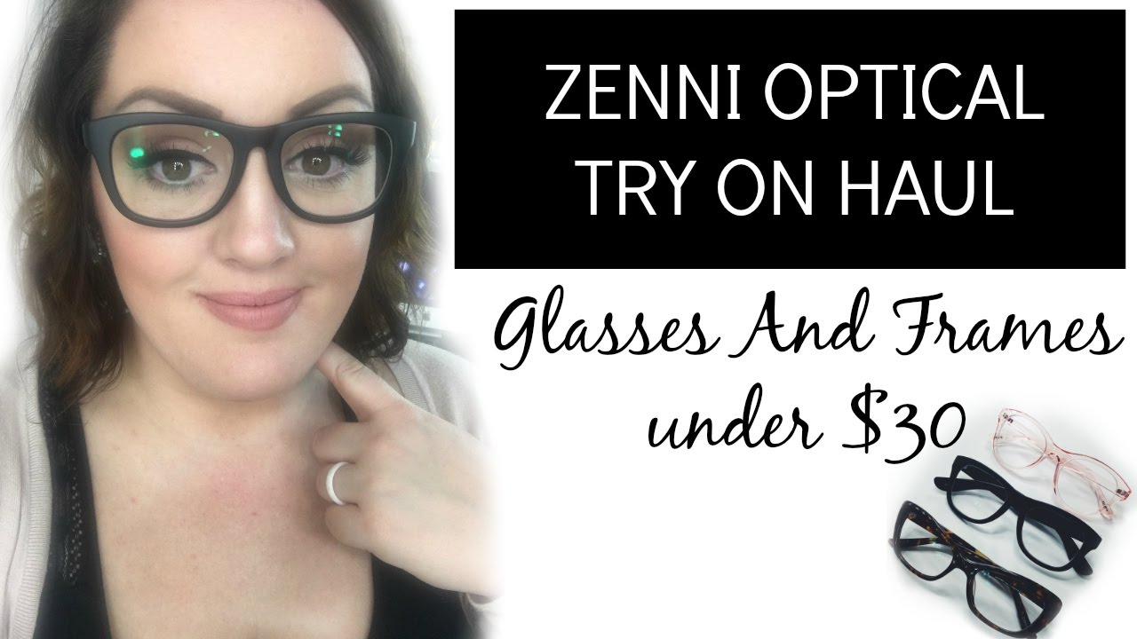 Zenni Optical Haul + Reviewunplannedmix